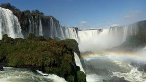 Πτώσεις του Iguazu στο καλύτερό τους στοκ φωτογραφίες με δικαίωμα ελεύθερης χρήσης