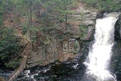 Πτώσεις Bushkill, Poconos Στοκ εικόνες με δικαίωμα ελεύθερης χρήσης