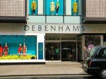 Πτώσεις Debenhams στη διοίκηση στοκ φωτογραφία με δικαίωμα ελεύθερης χρήσης