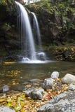 Πτώσεις Grotto, μεγάλα καπνώδη βουνά NP στοκ φωτογραφία με δικαίωμα ελεύθερης χρήσης