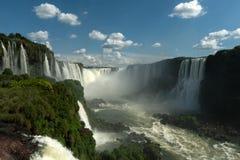 Πτώσεις Iguazu - λαιμός του διαβόλου στοκ φωτογραφία