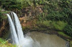 Πτώσεις kauai Χαβάη Waimea Στοκ φωτογραφία με δικαίωμα ελεύθερης χρήσης
