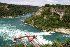 Πτώσεις Niagara ποταμών Στοκ Εικόνες