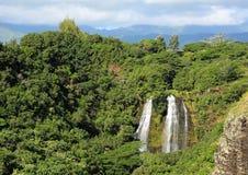 Πτώσεις Opaekaa, Kauai, Χαβάη στοκ εικόνα με δικαίωμα ελεύθερης χρήσης