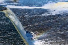 Πτώσεις Rideau Στοκ εικόνες με δικαίωμα ελεύθερης χρήσης