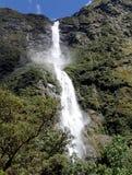 Πτώσεις Sutherland, διαδρομή Milford, Νέα Ζηλανδία. στοκ εικόνες