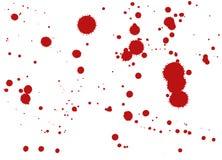 Πτώση αίματος, διανυσματική απεικόνιση Στοκ εικόνα με δικαίωμα ελεύθερης χρήσης