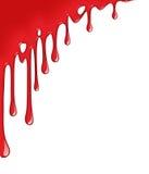 Πτώση αίματος Στοκ εικόνα με δικαίωμα ελεύθερης χρήσης
