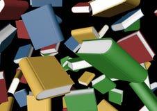 πτώση βιβλίων Στοκ Φωτογραφίες