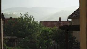 Πτώση βροχής απόθεμα βίντεο