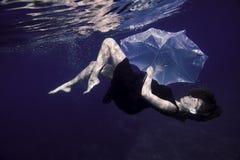 Πτώση κάτω από την ομπρέλα πνεύματος Στοκ φωτογραφία με δικαίωμα ελεύθερης χρήσης