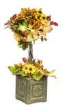 Πτώση και χρωματισμένο φθινόπωρο λουλούδι Arrangment Στοκ εικόνα με δικαίωμα ελεύθερης χρήσης