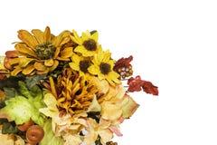 Πτώση και χρωματισμένο φθινόπωρο λουλούδι Arrangment Στοκ Φωτογραφίες