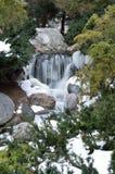 Πτώση νερού μέσα στους κήπους Dow Στοκ εικόνες με δικαίωμα ελεύθερης χρήσης