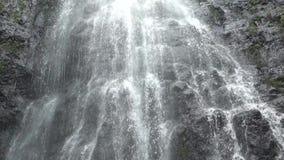 Πτώση νερού στο νησί Oahu στη Χαβάη απόθεμα βίντεο