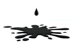 Πτώση πετρελαίου Στοκ Φωτογραφία
