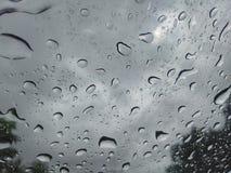 Πτώση στο αυτοκίνητο γυαλιού Στοκ φωτογραφίες με δικαίωμα ελεύθερης χρήσης