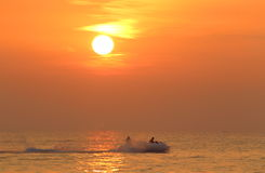 Πτώση στο Κόλπο της Ταϊλάνδης στοκ φωτογραφίες