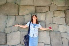 Πτώση στο χέρι μου Στοκ Φωτογραφίες