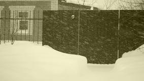 Πτώση χιονιού φιλμ μικρού μήκους