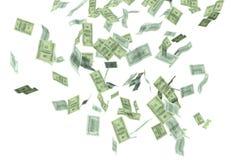 Πτώση χρημάτων Στοκ Εικόνες