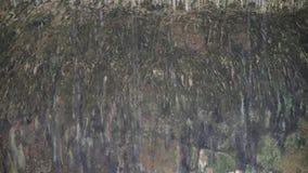 Πτώση waterdrops στη σπηλιά
