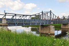 Πυίδα γέφυρα, Kostelany, τσεχικά Στοκ φωτογραφία με δικαίωμα ελεύθερης χρήσης