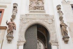 Πυίδα είσοδος EL Perdon, καθεδρικός ναός της Σεβίλης, Ισπανία Στοκ φωτογραφίες με δικαίωμα ελεύθερης χρήσης