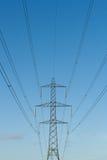 Πυλώνες ηλεκτρικής ενέργειας Στοκ εικόνα με δικαίωμα ελεύθερης χρήσης