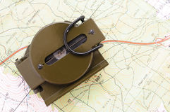 πυξίδα 5 στρατιωτική εμείς Στοκ φωτογραφία με δικαίωμα ελεύθερης χρήσης