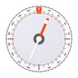 Πυξίδα αθλητικού Orienteering επίσης corel σύρετε το διάνυσμα απεικόνισης Διανυσματική απεικόνιση
