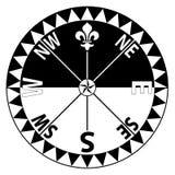 πυξίδα Στοκ Εικόνες