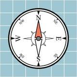 Πυξίδα Στοκ εικόνες με δικαίωμα ελεύθερης χρήσης