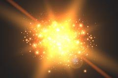 Πυράκτωση ελαφριάς επίδρασης Λαμμμένα αστέρι τσέκια abstract background space απεικόνιση αποθεμάτων