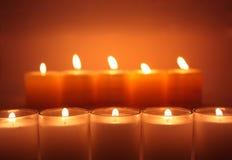 πυράκτωση κεριών Στοκ φωτογραφίες με δικαίωμα ελεύθερης χρήσης