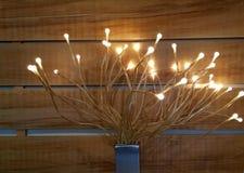Πυράκτωση λαμπών φωτός Ντεκόρ φωτισμού, βολβός στοκ εικόνα