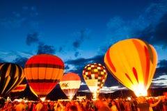 Πυράκτωση μπαλονιών Στοκ φωτογραφίες με δικαίωμα ελεύθερης χρήσης