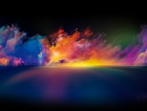 Πυράκτωση των χρωμάτων Στοκ Εικόνες