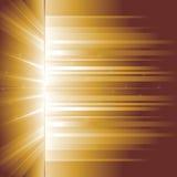 πυράκτωση χρυσή ακτίνες Στοκ Φωτογραφία