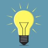 πυράκτωση lightbulb Στοκ εικόνες με δικαίωμα ελεύθερης χρήσης