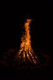 Πυρά προσκόπων - πυρκαγιά - θέση πυρκαγιάς Στοκ φωτογραφία με δικαίωμα ελεύθερης χρήσης