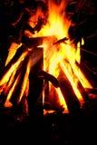 πυρά προσκόπων Στοκ Φωτογραφίες