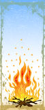 πυρά προσκόπων Στοκ φωτογραφίες με δικαίωμα ελεύθερης χρήσης