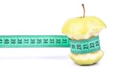 Πυρήνας και μετρητής της Apple Στοκ φωτογραφία με δικαίωμα ελεύθερης χρήσης