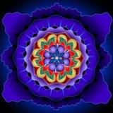Πυρήνας Mandala Στοκ Φωτογραφίες