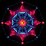 Πυρήνας Mandala Στοκ Φωτογραφία