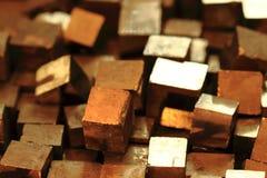 Πυρίτης (χρυσή ορυκτή συλλογή) Στοκ φωτογραφίες με δικαίωμα ελεύθερης χρήσης