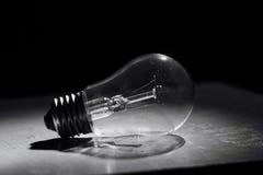 Πυρακτωμένη ηλεκτρική ενέργεια έννοιας βολβών Στοκ εικόνες με δικαίωμα ελεύθερης χρήσης