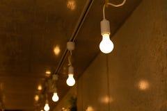 πυρακτωμένο φως βολβών στοκ εικόνα με δικαίωμα ελεύθερης χρήσης