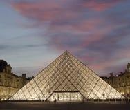 πυραμίδα ανοιγμάτων εξαερισμού της Γαλλίας Στοκ φωτογραφίες με δικαίωμα ελεύθερης χρήσης